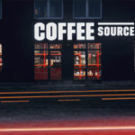 Coffee Source, 0,5 Studio, foto Filip Gyore, grafika Toman Design, 2018