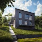 Rodinný dům Měchenice, 0,5 Studio, 2018