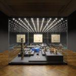 Muzeum hlavního města Prahy, kurátor Tomáš Pospiszyl, architektonické řešení 0,5 studio, grafika Martin Groch, fotografie Jan Vrabec