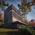 Kostka - Lipnice nad Sázavou, 0,5 Studio, Chytrý dům , 2020
