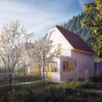 Rekonstrukce rodinný dům Měchenice, 0,5 Studio, 2020