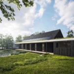 Rodinný dům Vrané nad Vlatavou, 0,5 Studio, 2021