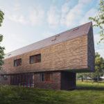 Rodinný dům Řevnice záplavová oblast, 0,5 Studio, 2021
