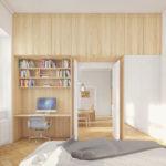 Byt Karlín IV, 05 Studio, 2021